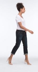 Ag Adriano Goldschmied Jeans - AG The tomboy Crop Relaxed Straight Gold Jeans